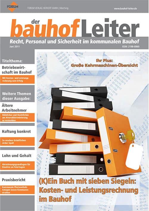 Ausgabe Juni 2011<br>Kosten- und Leistungsrechnung