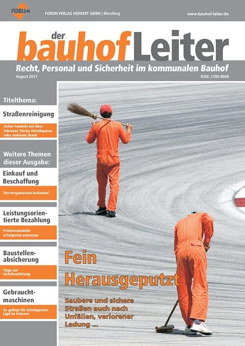 Ausgabe August 2011<br>Fein Herausgeputzt