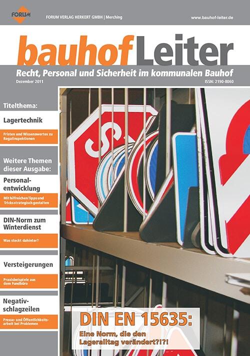 Ausgabe Dezember 2011<br>DIN EN 15635