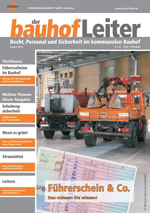 Ausgabe August 2012<br>Führerschein & Co.
