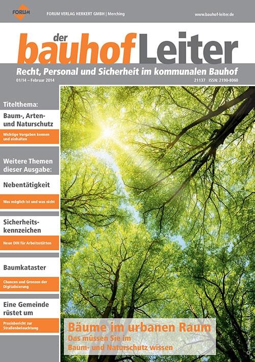 Ausgabe Februar 2014<br>Bäume im urbanen Raum