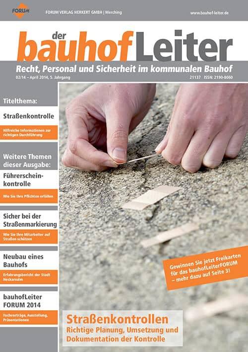 Ausgabe April 2014<br>Straßenkontrollen