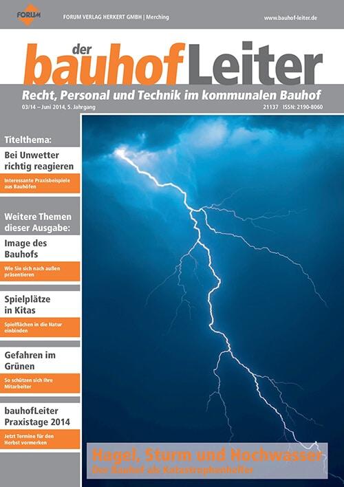 Ausgabe Juni 2014<br>Hagel, Sturm und Hochwasser