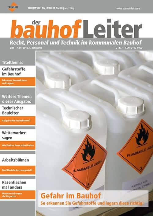 Ausgabe April 2015<br>Gefahr im Bauhof