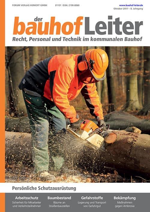 Ausgabe Oktober 2017<br>Persönliche Schutzausrüstung