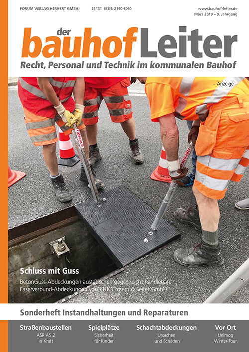 Ausgabe März 2019<br>Instandhaltungen und Reparaturen