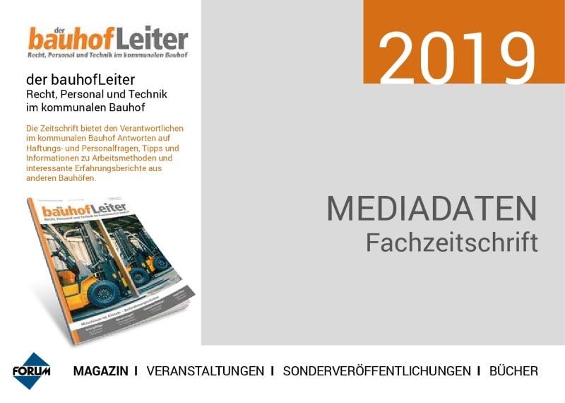 Mediadaten Bauhofleiter Magazin