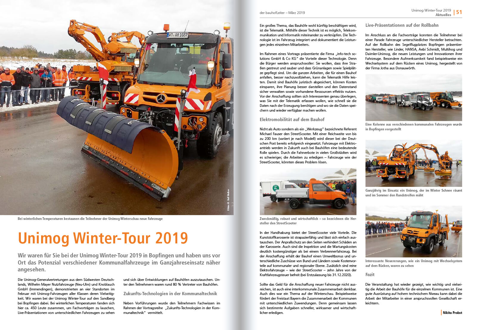 2019-03 Unimog Winter-Tour 2019