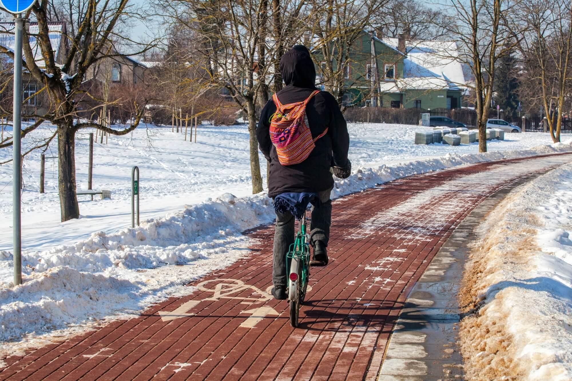 Winterdienst auf Radwegen