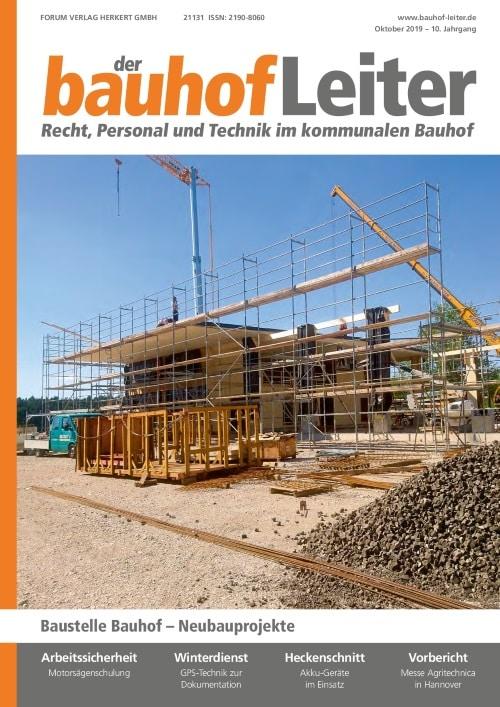Ausgabe Oktober 2019<br>Neubauprojekte
