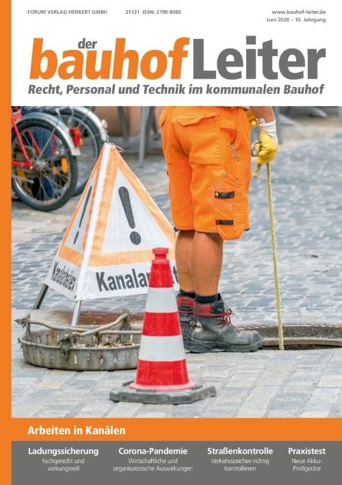 Ausgabe Juni 2020<br>Kanalarbeiten