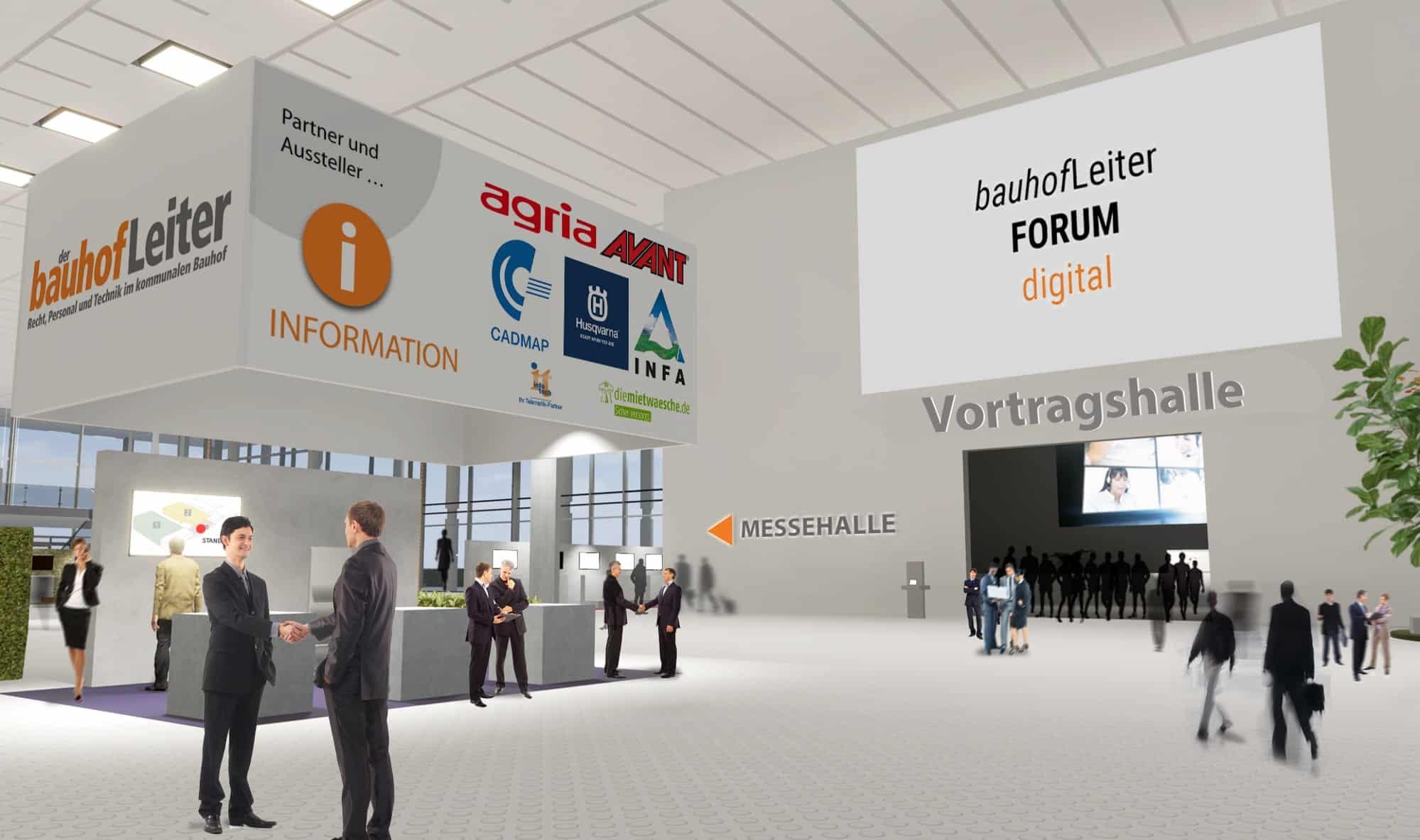 Nachbericht bauhofLeiterFORUM digital 2020 – Der digitale Branchentreff