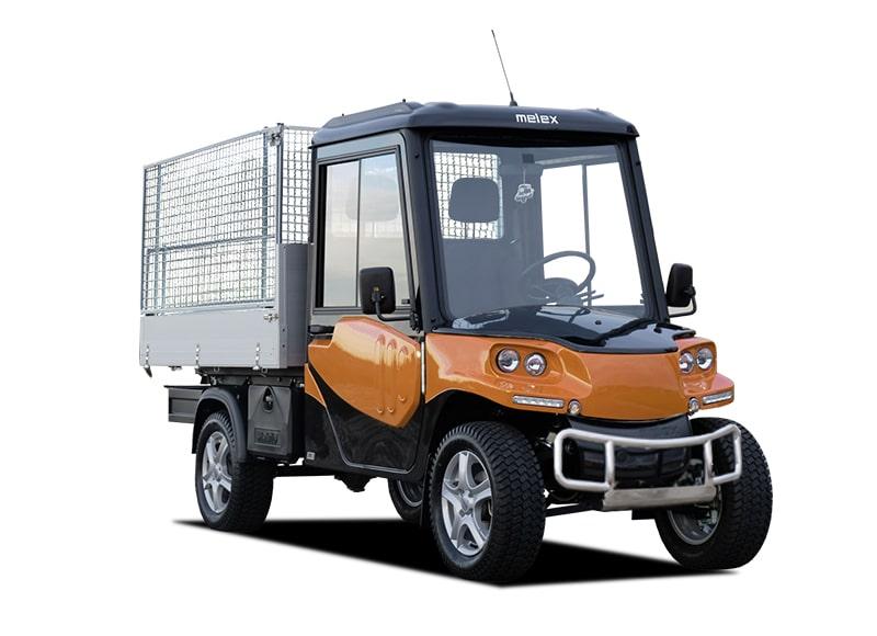 Melex Cargo 391.1 Pritsche Gitterzäunen