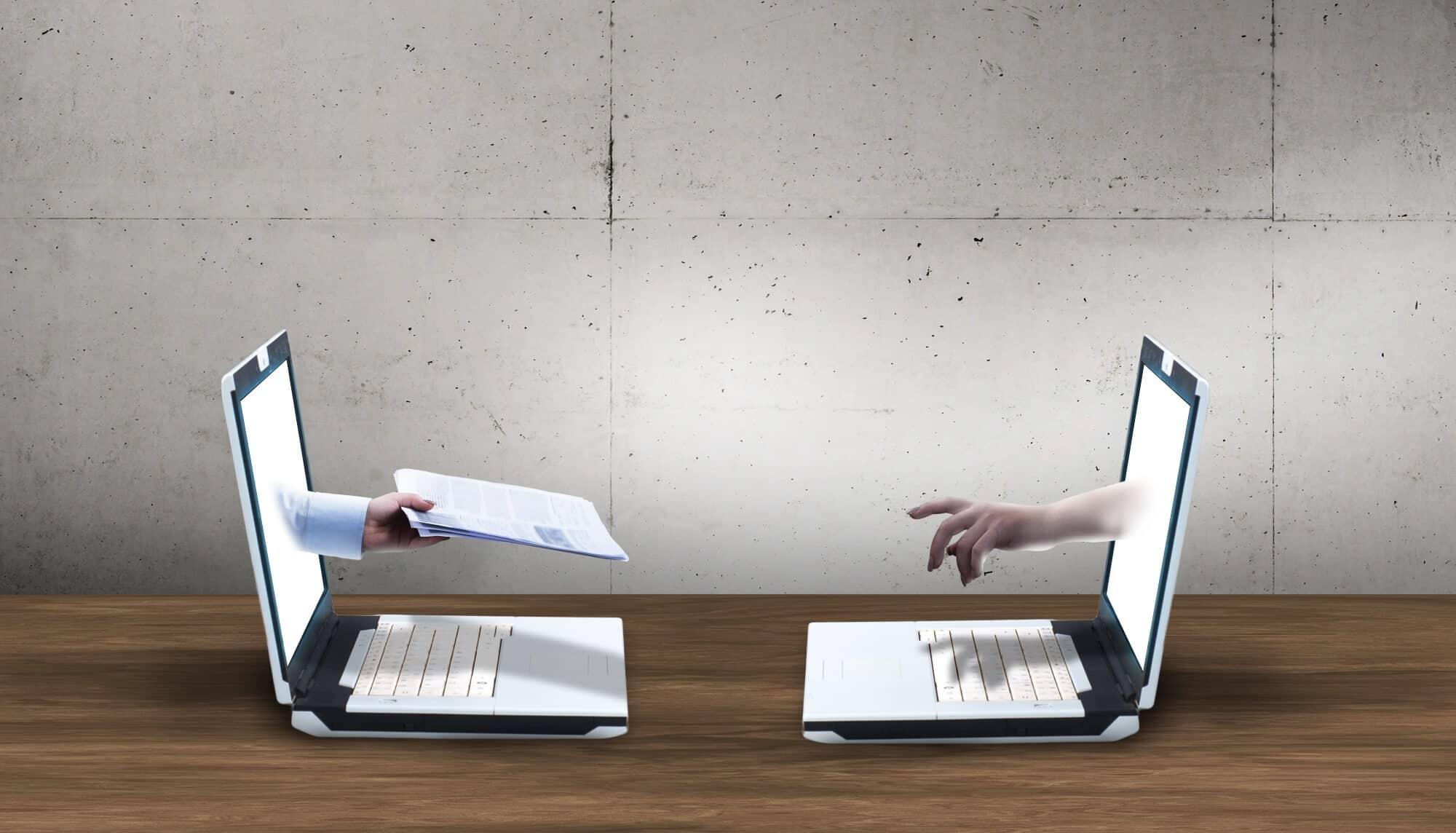 Datenschutz bei Online-Bewerbungen
