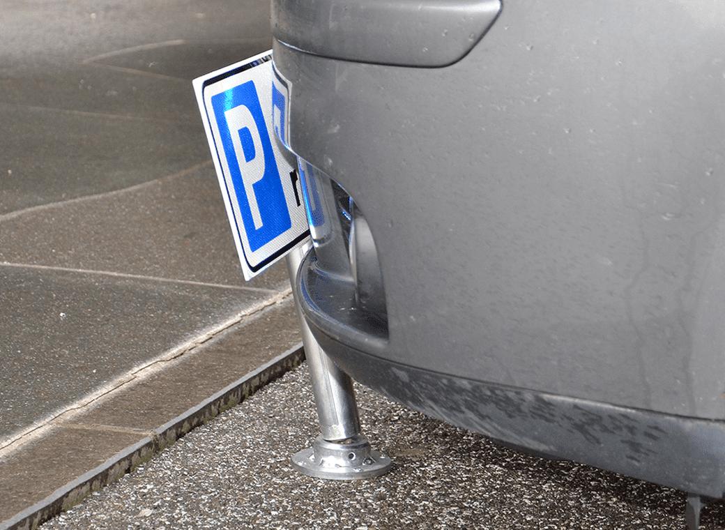 flexible post parking